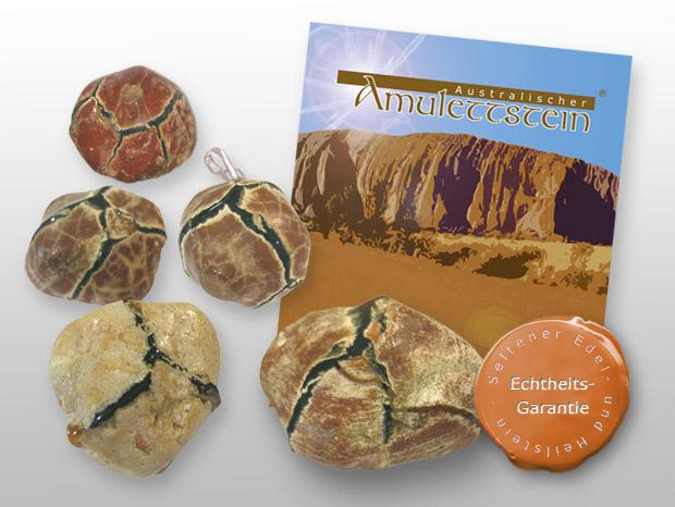 Australischer Amulettstein