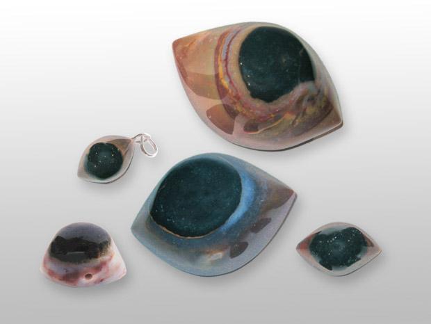 Augen-Achate