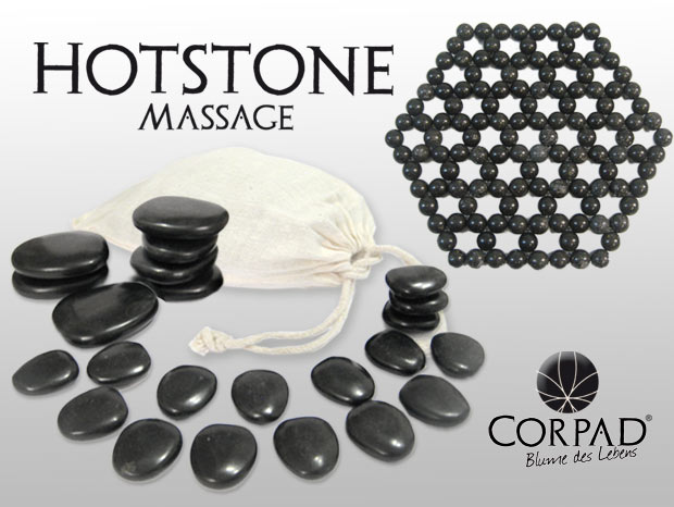 Hotstone Massage-Set
