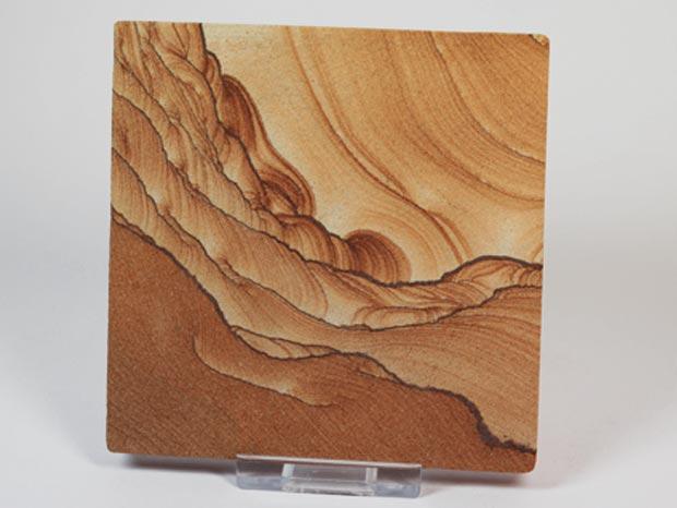 Sandstein-Scheibe